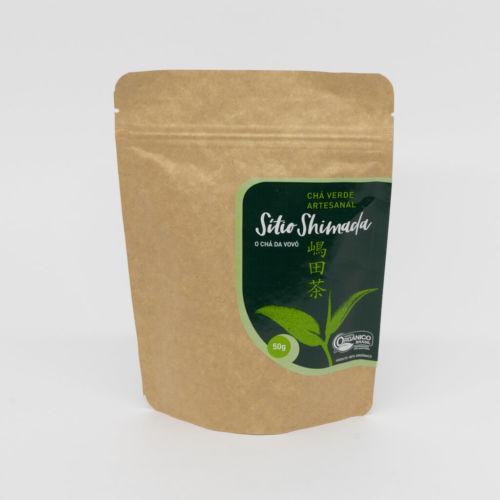 Chá Verde Orgânico 50g