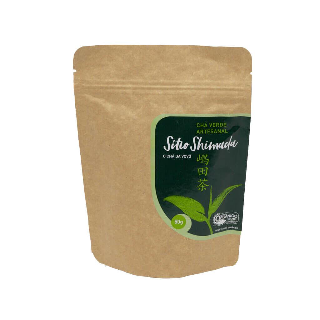 chá verde organico