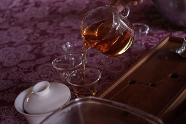 preparo do Chá Preto